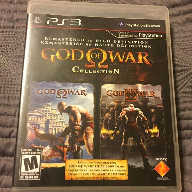 God of War 1 & 2 Callection for PS3