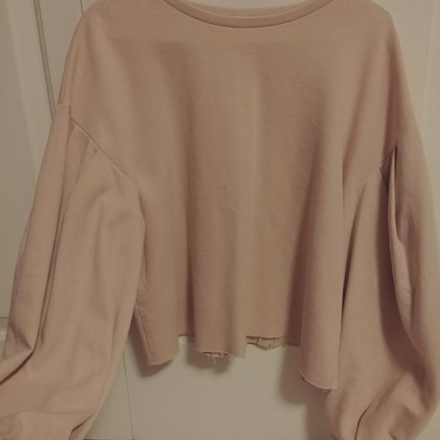fc03bd92ce3efb Best Zara Pale Pink Top With Puffed Sleeves for sale in Victoria ...