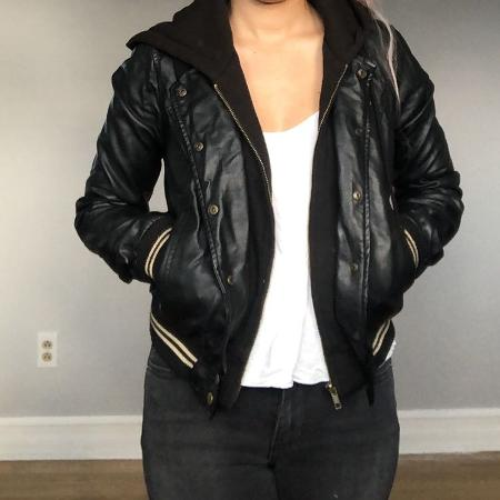 OBEY LEATHER JACKET for sale  Canada