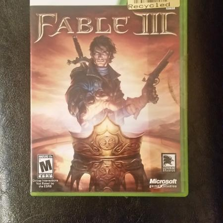 XBOX 360 Fable III (3) Video Game for sale  Canada