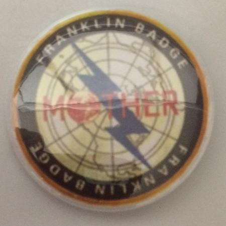 Earthbound / Mother Franklin Badge Pin, used for sale  Canada