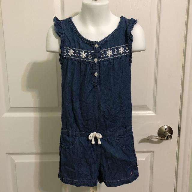 b13e790782001 Best Nautica 2t Girl Cotton Jumper Shorts Outfit-(b107) for sale in Brenham,  Texas for 2019