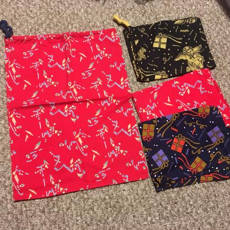4 new fabric bags for sale  Canada