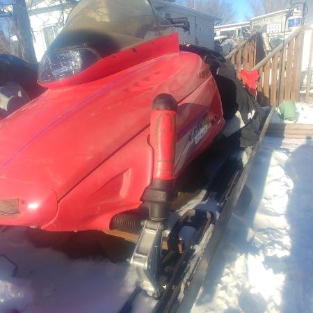 Yahama V Max Twin snowmoblie for sale  Canada