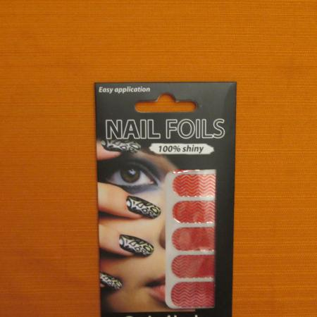 Easy application Nail Foils - Red... for sale  Canada