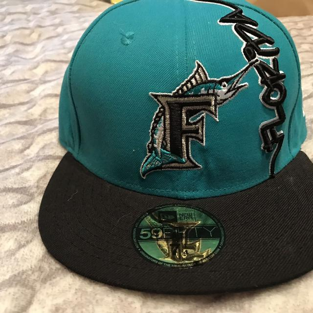 23886052ffd16 Best New Era Florida Marlins Size 7 1/4 for sale in Clarington, Ontario for  2019