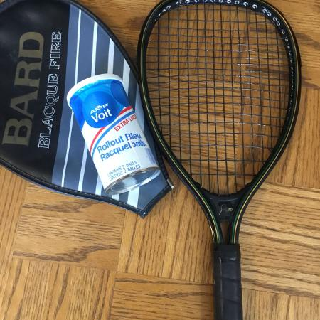 Used, Bard racquetball racket with cover... for sale  Canada