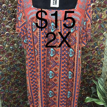 Ladies Size 2X Torrid Blouse for sale  Canada