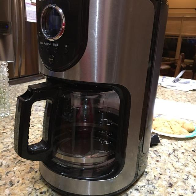 KitchenAid 12 cup programmable coffee maker