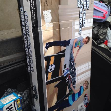 48 inch soccer table - new in box for sale  Canada