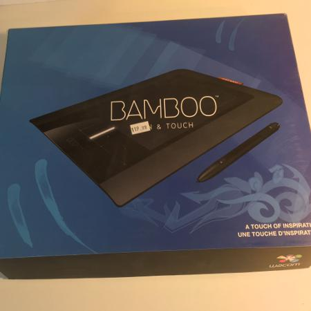 Tablet with stylus- Wacom Bamboo pen... for sale  Canada
