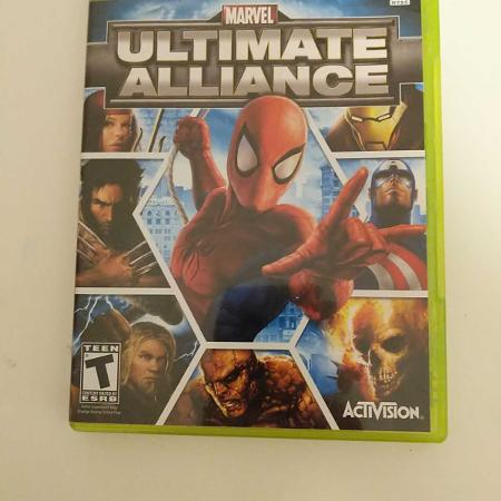 Xbox 360 Marvel Ultimate Alliance for sale  Canada