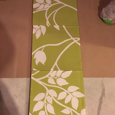 Used, Fabric wall art for sale  Canada