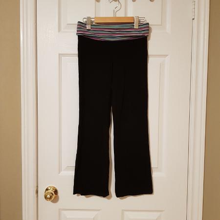 11f6ea32e935a Old Navy Girls Yoga Pants ~ Black ~ Sz. 10/12 ~ EUC ~