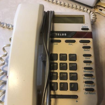 DESKTOP/WALL MOUNT TELEPHONE TELUS☎️GUC, used for sale  Canada
