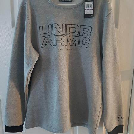 5c8e4c6d77 Men s Under Armour Crew Sweater . New XXL Fitted