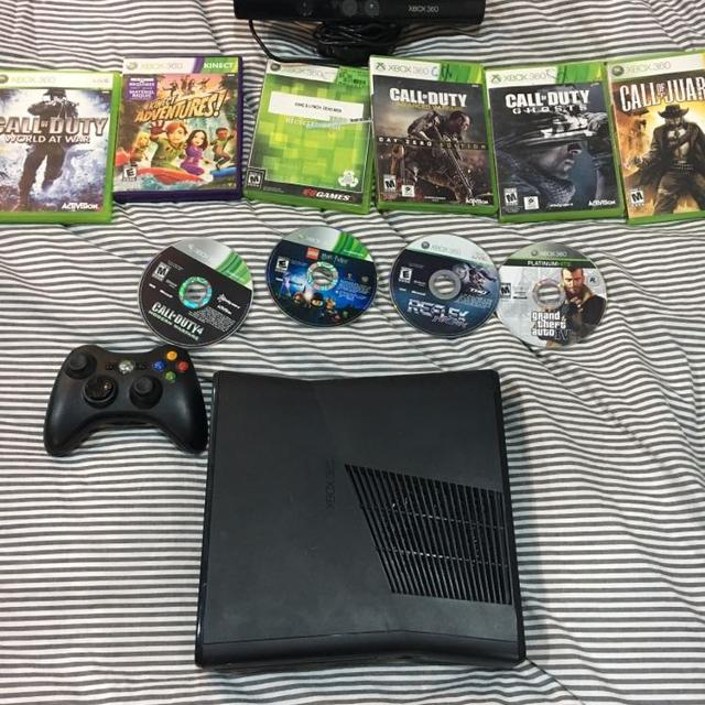 Xbox 360 Kinect, Games, Controller