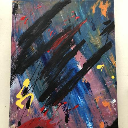 Abstract expressionism painting, used for sale  Canada