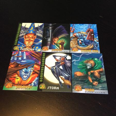6 - different -  Fleer - X-Men cards... for sale  Canada