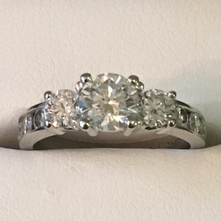 Diamond Engagement Ring (CWT 1.21 carat) for sale  Canada