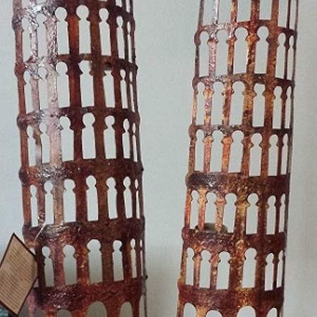 HAND FORGED IRON CANDLE TOWERS - ... for sale  Canada