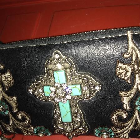 db6b9be97 Wallet with beautiful Cross