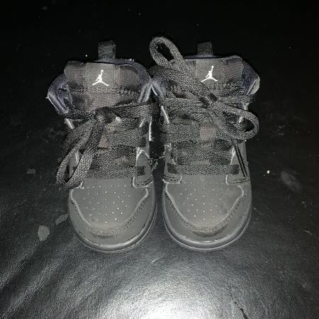 9b714a903bfaf Baby Boy High Top Jordan s