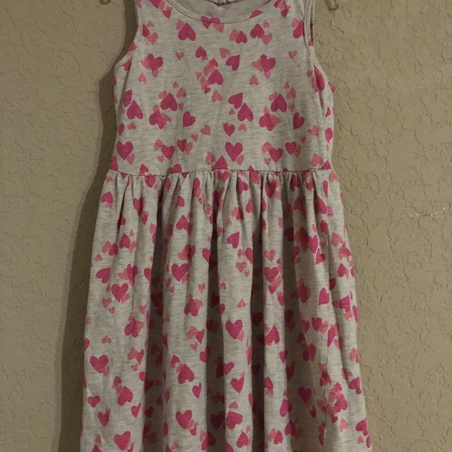 8f8330385a15 Best H&m Adorable Pink Hearts Summer Dress. Size 8-10 for sale in ...