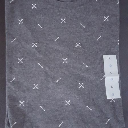Used, Men's Grey T-shirt Large New for sale  Canada
