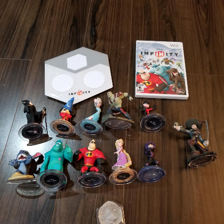 Disney Infinity for WII, used for sale  Canada