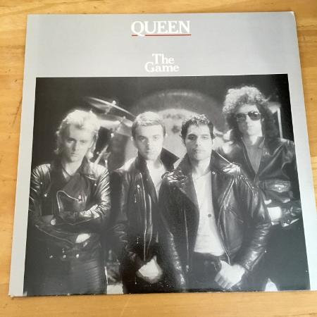 Queen the Game vinyl record w insert for sale  Canada