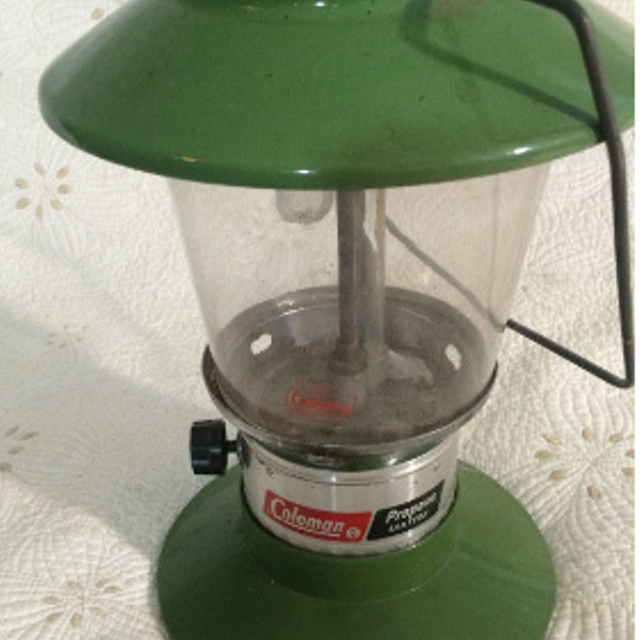 Vintage Coleman Propane Lantern - model 5419A-701 - patented 1974 - Made in  Canada