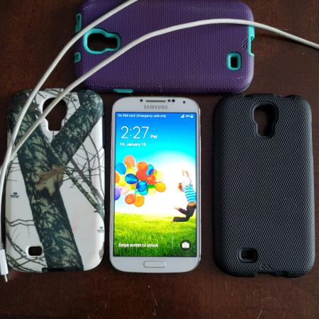 SAMSUNG   Galaxy  S4 Phone, used for sale  Canada