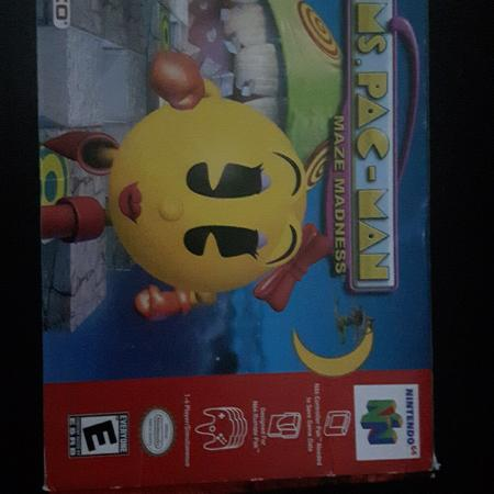 Nintendo 64 Ms Pac-man game with box for sale  Canada