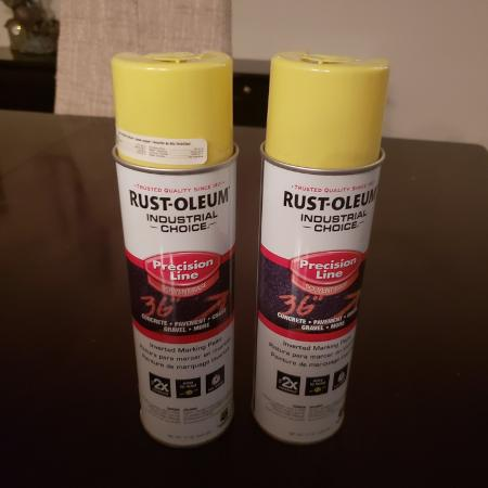 Used, 2 Cans Rust-Oleum Line Marking Paint for sale  Canada