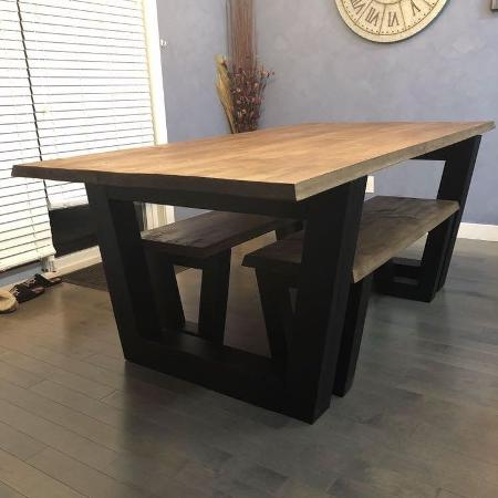 Used, Kitchen table and benches $700obo for sale  Canada