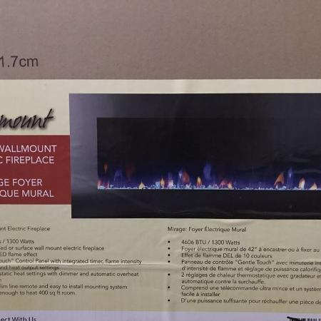 Paramount Wall Mount Fireplace/Heater for sale  Canada