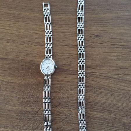 Used, Ladies silver Rotary watch & bracelet... for sale  Canada