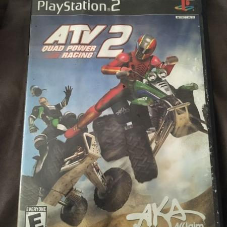 Ps2 atv quad power racing 2 for sale  Canada