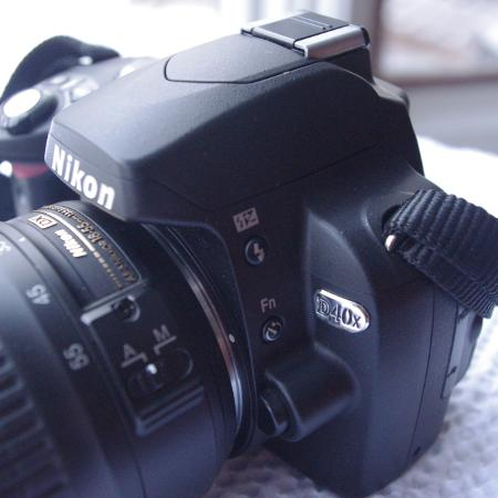 Nikon D40x 12 megapixel package, used for sale  Canada