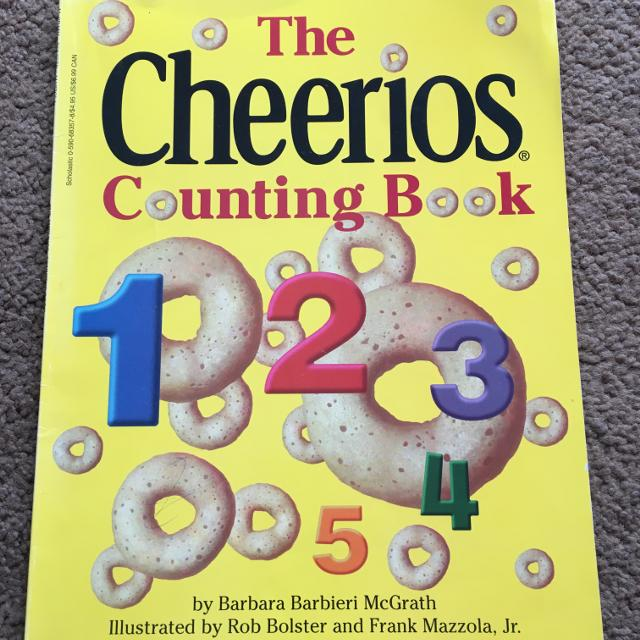 DAYCARE CLOSING - CHEERIOS COUNTING BOOK