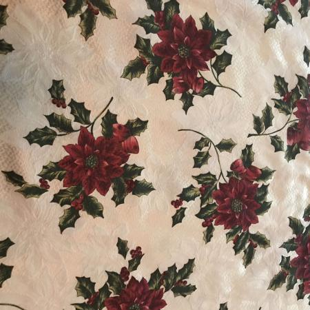 Used, Christmas fabric tablecloth for sale  Canada