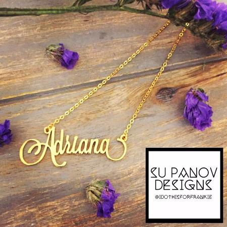 PERSONALIZED name necklace, used for sale  Canada