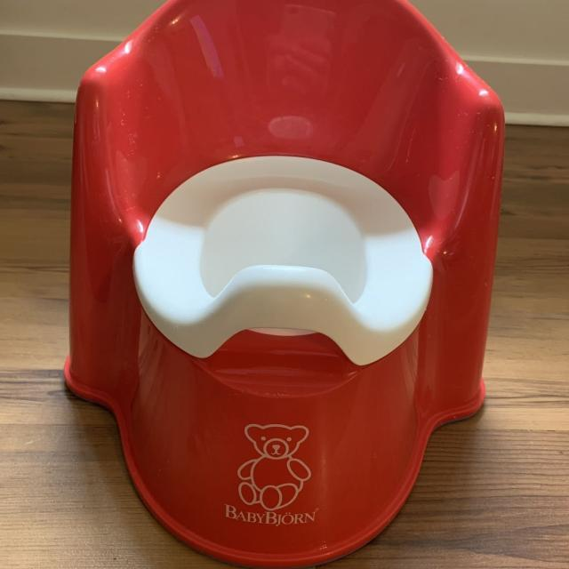 10b512abe7e Find more Red Baby Bjorn Potty for sale at up to 90% off