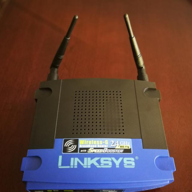 linksys 2 4ghz router