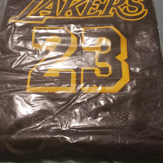 check out d5549 12cfd Black mamba lakers lebron james jersey