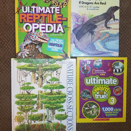 4 EUC Kids high interest Fact books for sale  Canada