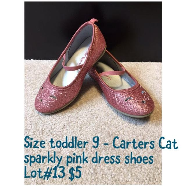 109947a6f Best Carters Toddler 9 Cat Sparkly Dress Shoes Guc for sale in Newmarket,  Ontario for 2019