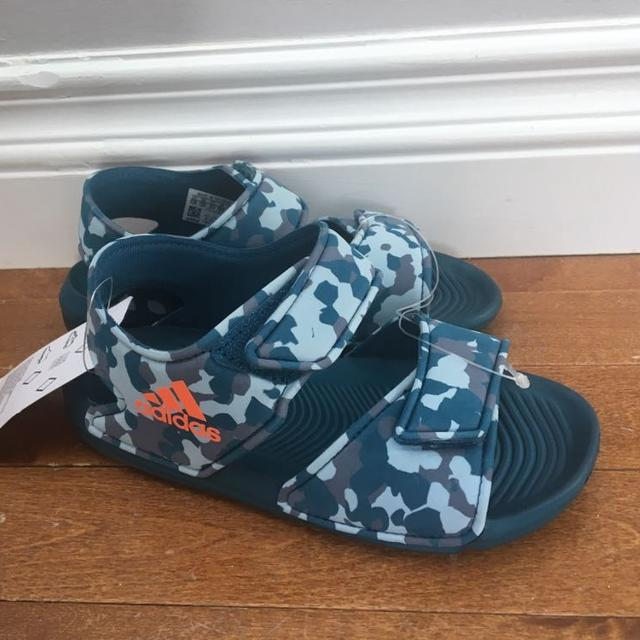 a7af972c7f5a Find more Nwt Boys Size 12 Adidas Sandals for sale at up to 90% off