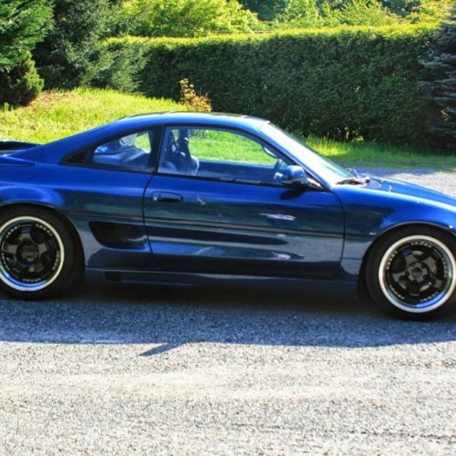 1991 Toyota Mr2 For Sale: Best 1991 Toyota Mr2 Turbo (nautical Blue) For Sale In